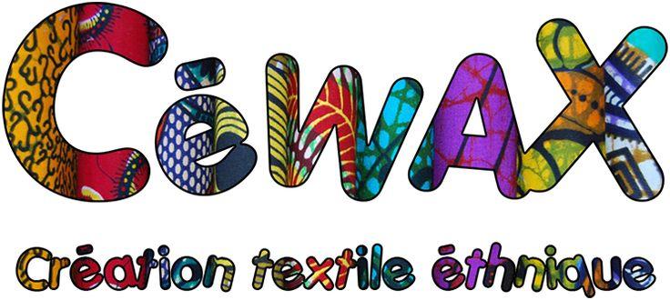 www.cewax.fr Retrouvez des accessoires en tissu africain wax ankara