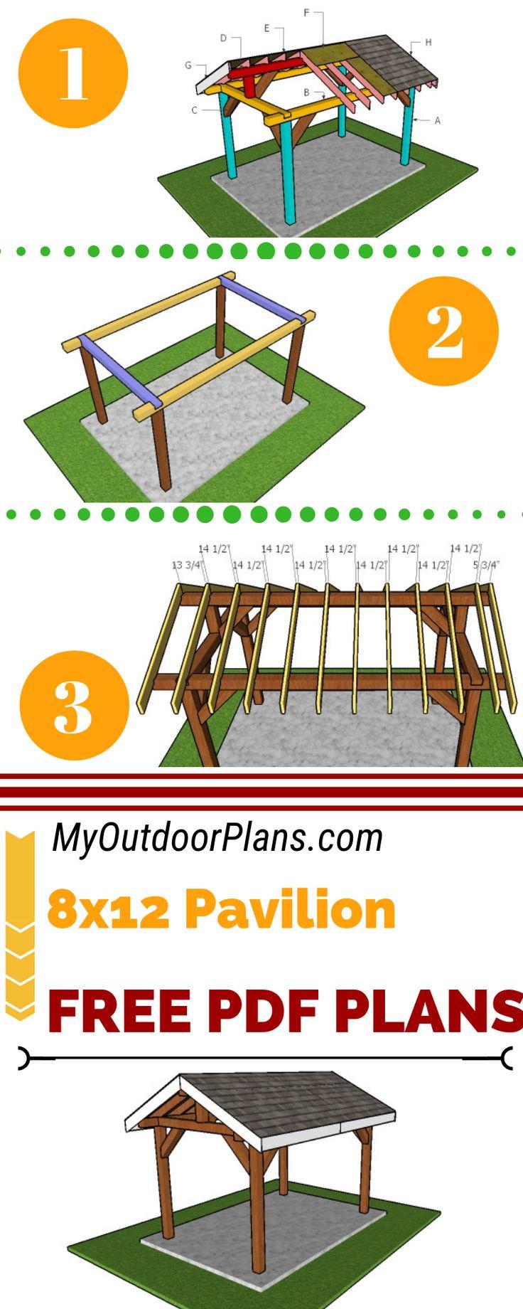 812 outdoor pavilion free diy plans diy plans free