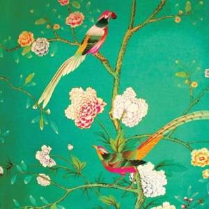 Antique Fragment Green Bird - Anna Chandler