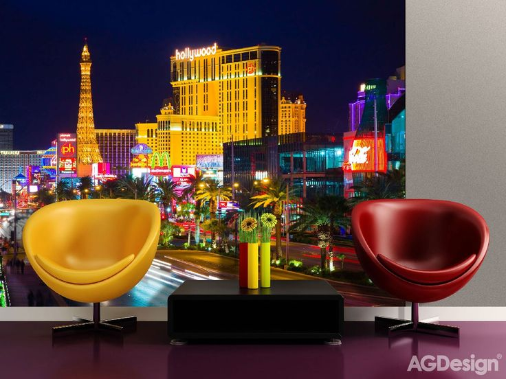 Fototapeta noční Las Vegas - Fototapety Creative Collection XXL - 360 x 270 cm