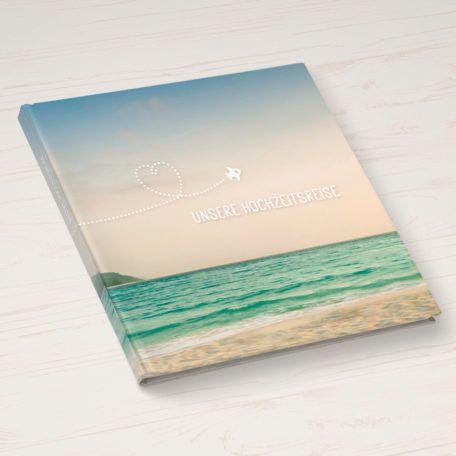 Hochzeitsreise Tagebuch als kreatives Hochzeitsgeschenk für das Paar auf der großen Reise