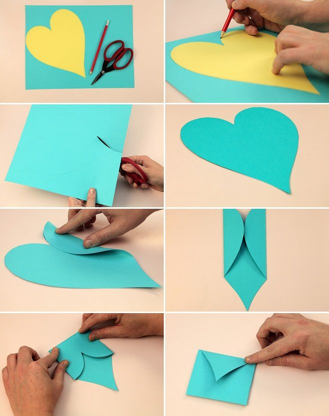 30+ Unique DIY Valentines Day Cards & Envelopes » Inspiring Pretty