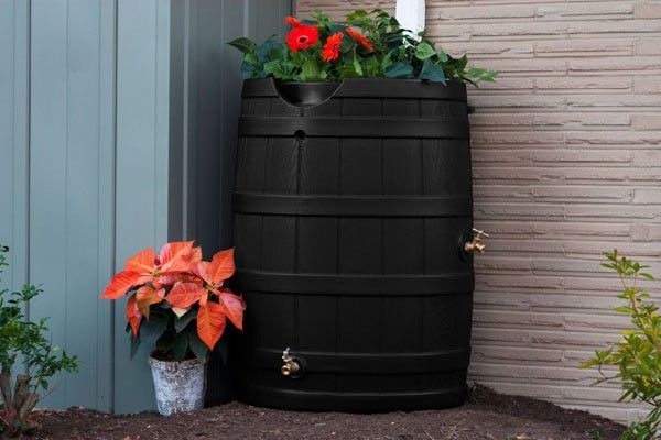 Good Ideas Rain Wizard 65 RW65 Holds up to 65 Gallons of Rain Water Made in the USA Free Shipping