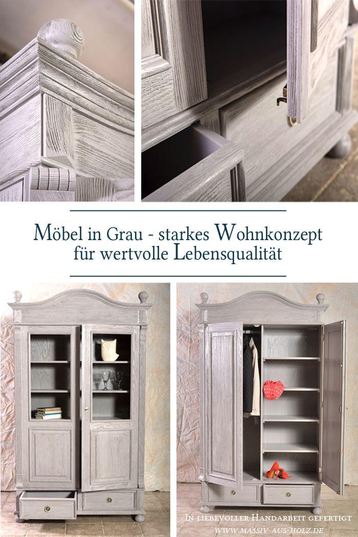 Mobel In Grau Starkes Wohnkonzept Fur Wertvolle