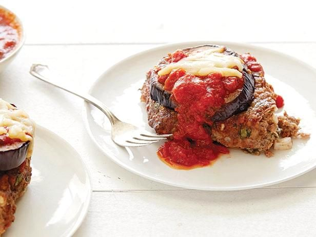 Get Giada De Laurentiis's Eggplant Parmesan Meatloaf Recipe from Food Network