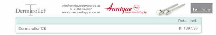 Lamelle Derma Roller Get your Lamelle products at Annique Day Spa  info@anniquedayspa.co.za 012 654 0602/7 www.anniquedayspa.co.za