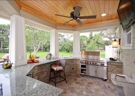 Resultado De Imagem Para Transformar área De Serviço Em área De Churrasco E  Lazer · Outdoor Kitchen DesignOutdoor ... Part 95