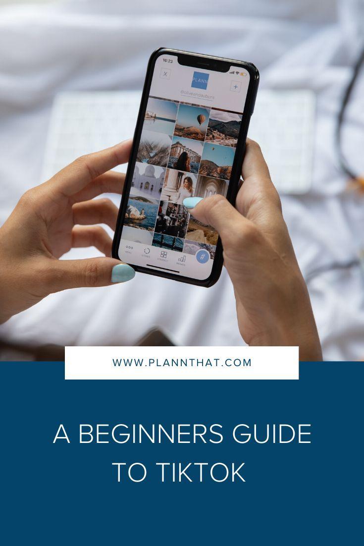 How To Link Your Tiktok With Instagram Plann Social Media Tutorial Social Media Checklist Social Media Strategies