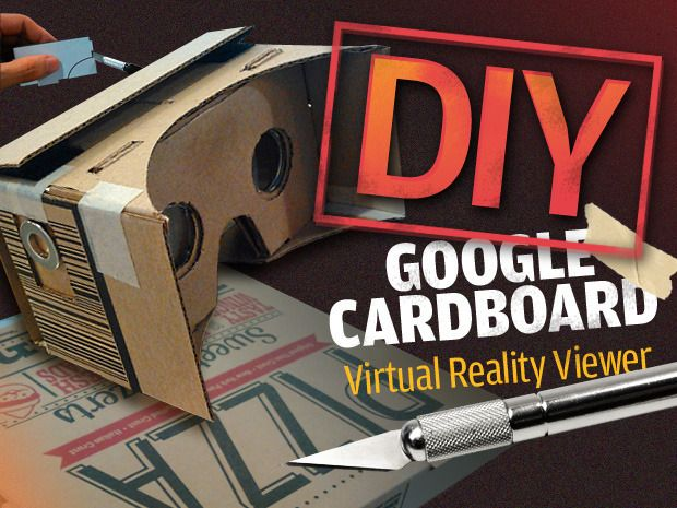 How to make your own virtual reality viewer.