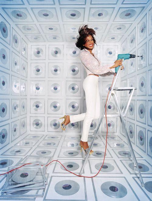 Whitney Houston by David La Chapelle.