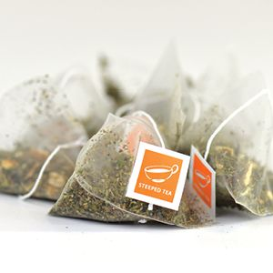 Product # 8388  Fine and Dandy in Tea Triangles  The same top quality, delicious tea you love in a silk triangle. It's now easy to enjoy your favorite tea anywhere, anytime. Ingredients: Peppermint, dandelion leaves, dandelion root, nettle leaves, orange peels. 1.94 oz (55 g)  Price: $13.00