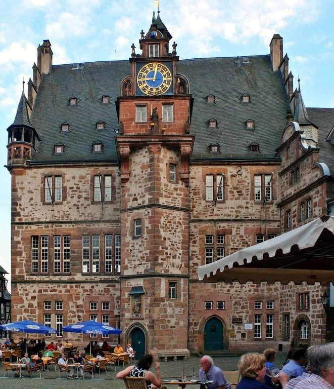 Town Hall Marburg Germany Home Decor Interior