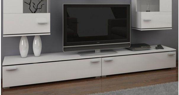 Oryginalne białe meble do salonu. http://www.aaaameble.pl/ #nowoczesnemeble #mebledosalonu #meble #minimalistycznemeble #mebleniemieckie #dom #aranzacjedom #aranzacje