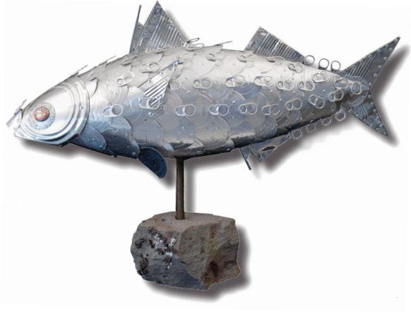Alanna Baird's awesome tin can art!