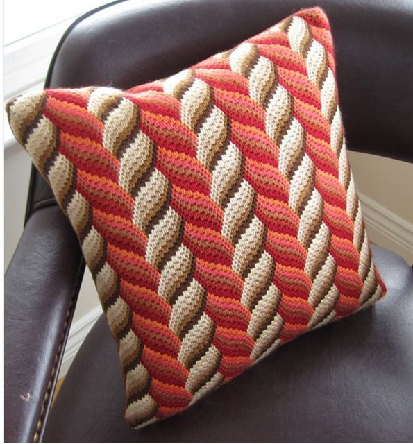 Beautiful bargello needlepoint