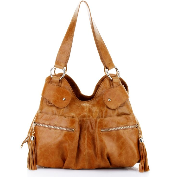 Genuine Baggage - Lux Haide Zuma Coffee Italian Leather Handbag, $359.00 (http://www.genuinebaggage.com.au/lux-haide-italian-leather-handbag-zuma-bag-in-coffee/)