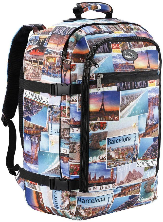 great size                       Cabin Max Metz Backpack Flight Approved Carry on Bag Travel Hand Luggage- 22x16x8