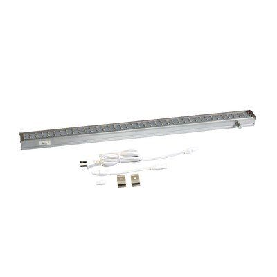 Radionic Hi Tech ZX515-D-WW, 19 inch LED Linkable, On/Off, 3000K (Warm White), Knob Dimmer, 90+ CRI, UL approved Under Cabinet Light Fixture, ideal for Kitchen, Utility & Workareas