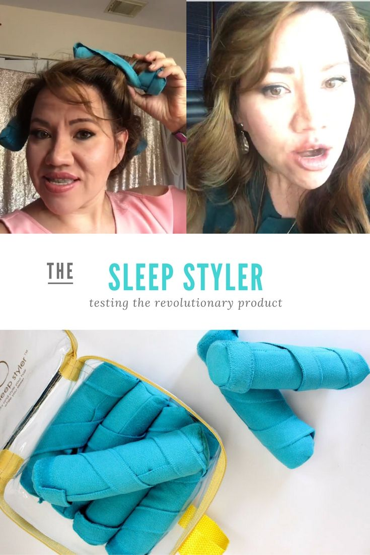 THE SLEEP STYLER: Hot or Not? Review & demo   Watch my review of The Sleep Styler to see if I thought it was hot or not.