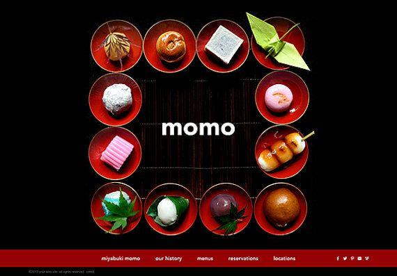 SALE wordpress web design restaurant website by designauctionsnow