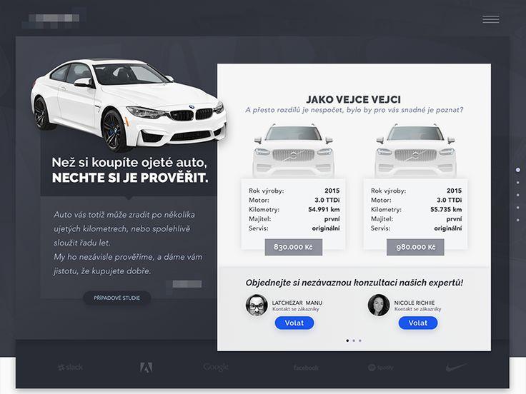 Car buyer helper homepage