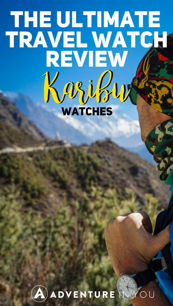 Travel Watch   Looking for the best travel watch? We recently reviewed Karibu Watches featuring an affordable watch that is both versatile and rugged. This watch is the perfect gift for any traveler. #travelgear #watch