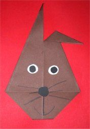 Easter activities - paper folding