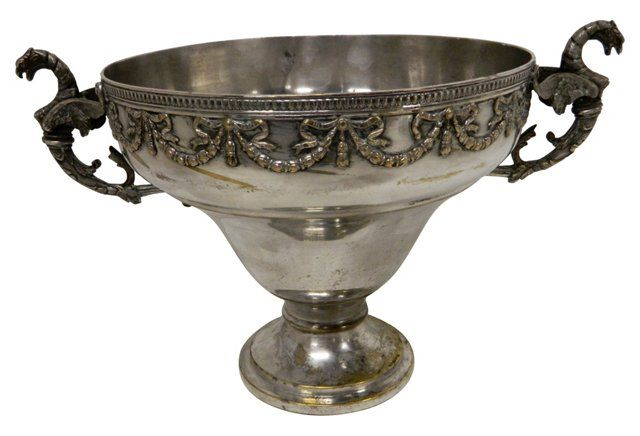 Antique French Silver Centerpiece | One Kings Lane