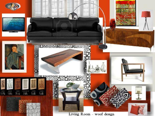 Living Room - Designed by Wendy Barnard