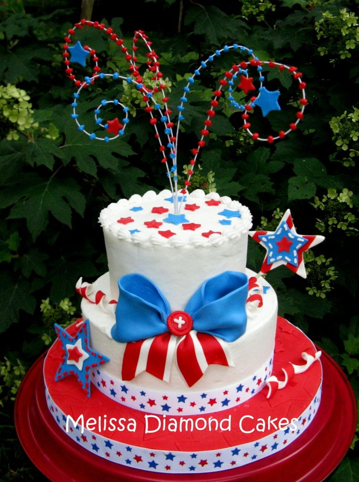 32 Best Rivers Birthday Cake Images On Pinterest 4th Of July Cake