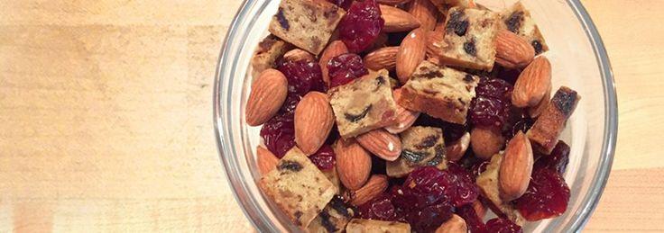 Going Cherry Nuts for Soy #trailmix using #SOYJOY bars #yum #snackonthego #healthysnacks #soyswaps #soyfoodsmonth