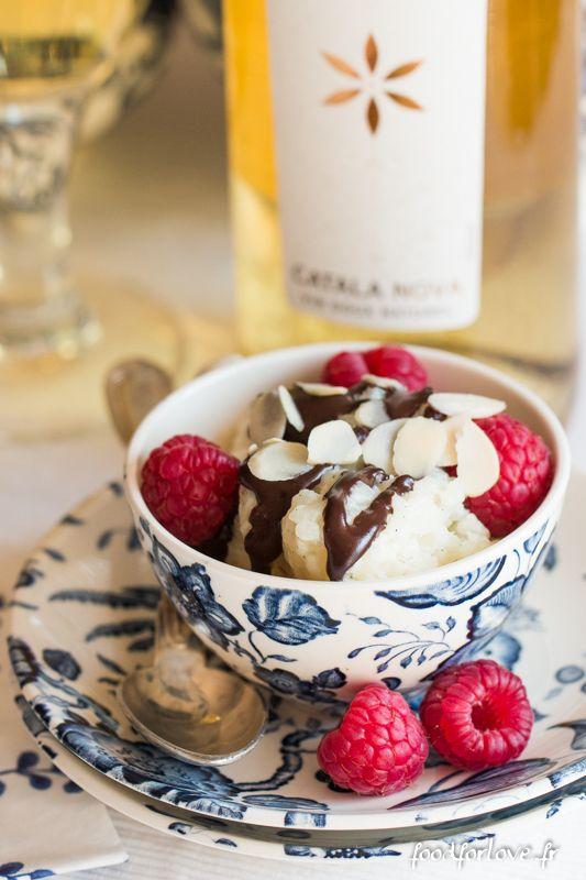 Riz au Lait Vanillé, au Chocolat et aux Framboises - Food for Love