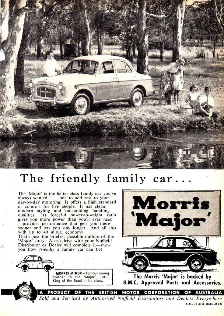 https://flic.kr/p/TVht2m   1958 Morris Major & Minor 1000 Aussie Original Magazine Advertisement