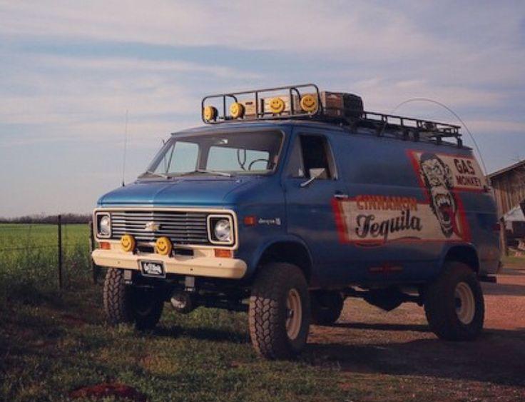 Gas monkey cinnamon tequila van vans pinterest for Garage 4x4 ardeche