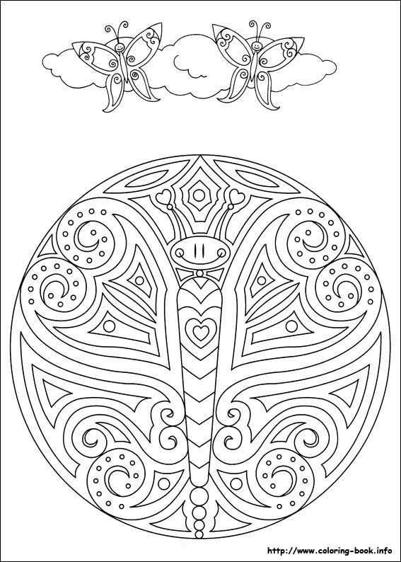 407 best coloring pages  mandala  dot dot  u0026 mazes images