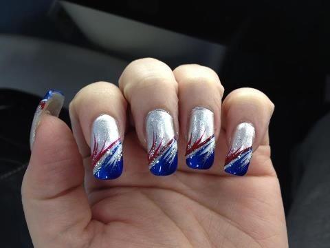 40 best Patriots Nails images on Pinterest | England patriots ...