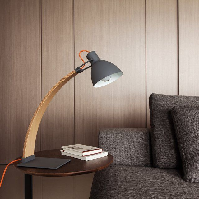 One Look At The Laito Wood Table/Desk Lamp Will Tell You That It Has Merged  The Wooden Elements Beautifully In An Everyday Table Lamp.