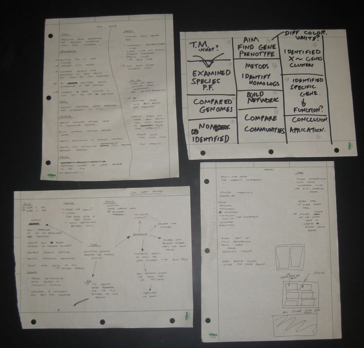 Michael Barton: Paper drawings from planning my poster.
