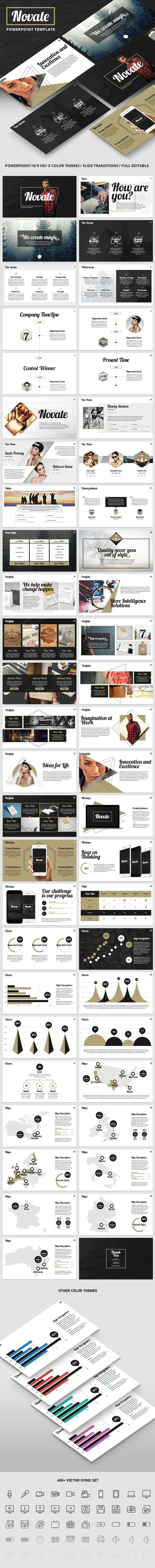 NOVATE - Creative PowerPoint Presentation Template. Download here: http://graphicriver.net/item/novate-creative-powerpoint-presentation-template/16040888?ref=ksioks