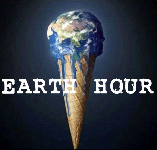 Pour éviter de fondre, Earth Hour