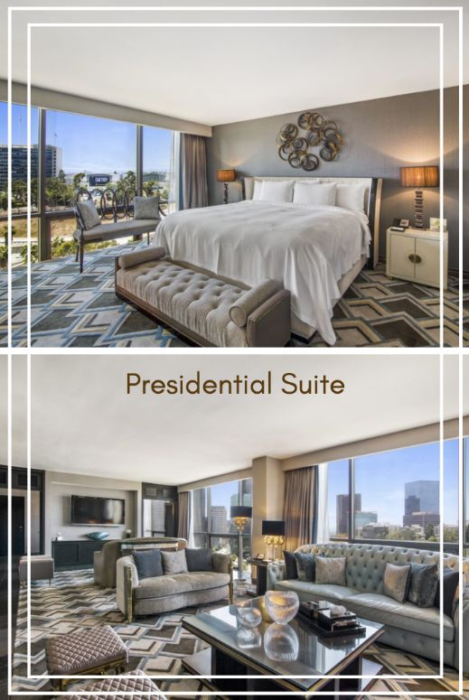 Check out our Presidential Suite with an attached living space! There is plenty of room for you and your guests! LA hotels. #LA #DTLA #downtownlosangeles #downtown #travelblog #travelblogger #vacation #holiday #traveling #traveler #tourist #tourism #trip #explore #adventure #travelphoto #wanderlust #traveldiaries #goodtimes #hotel #luxuryhotel #boutiquehotel #luxurytraveller #pool #hoteldeals