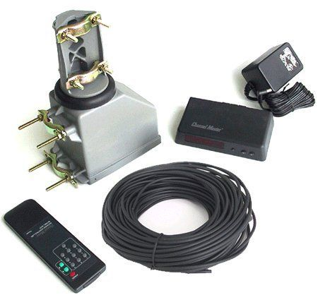 Channel Master CM9521A Complete Antenna Rotator Kit with Infra-Red Remote Control and 100 FT Rotator Wire (CM-9521A) by Channel Master. $128.99. Kit includes the Controller, Infra-Red Handheld remote, 100 Ft of Channel Master Rotator Wire and Antenna Drive Unit