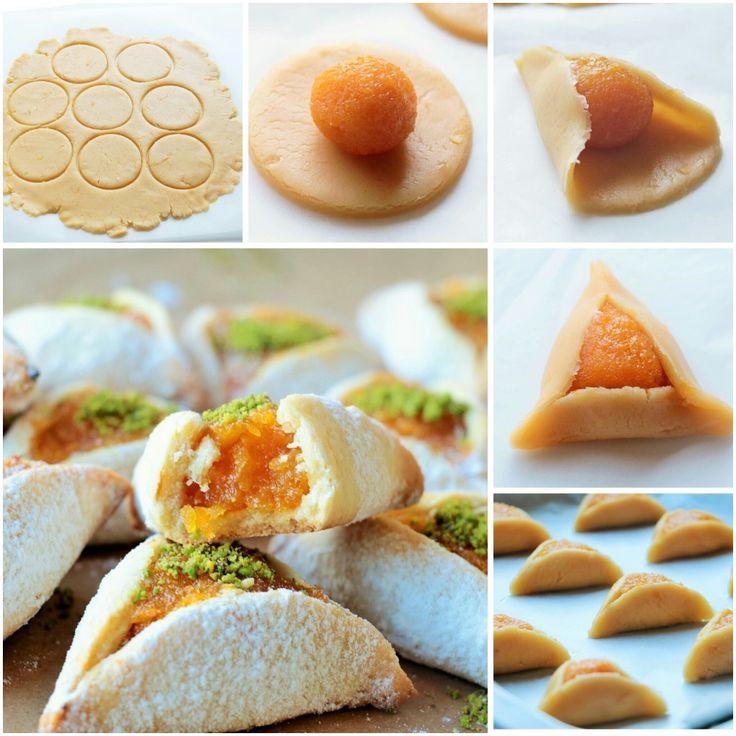 kayısı dolgulu kurabiye