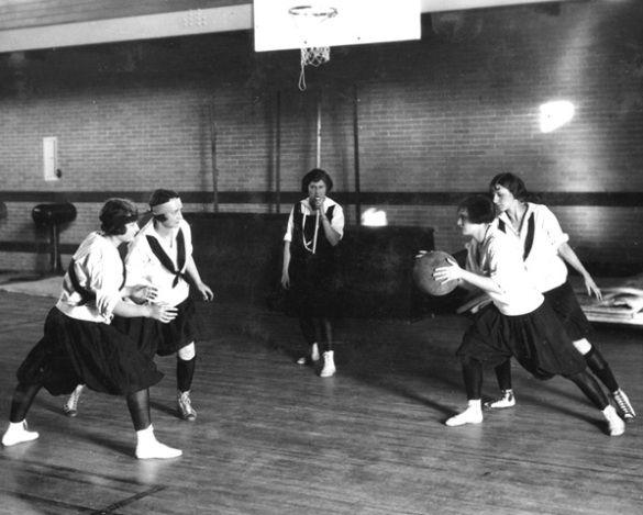 Historia del baloncesto femenino. Desde 1920 a 1930 #BasketFem  Baloncesto femenino en la Universidad de Missouri en 1925