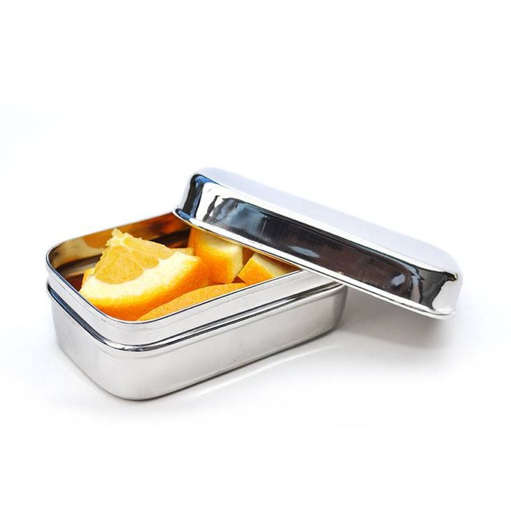 Dit handige Ecolunchpod meeneembakje is ideaal om een snack in te bewaren of om een apart vakje in een broodtrommel te creëren.