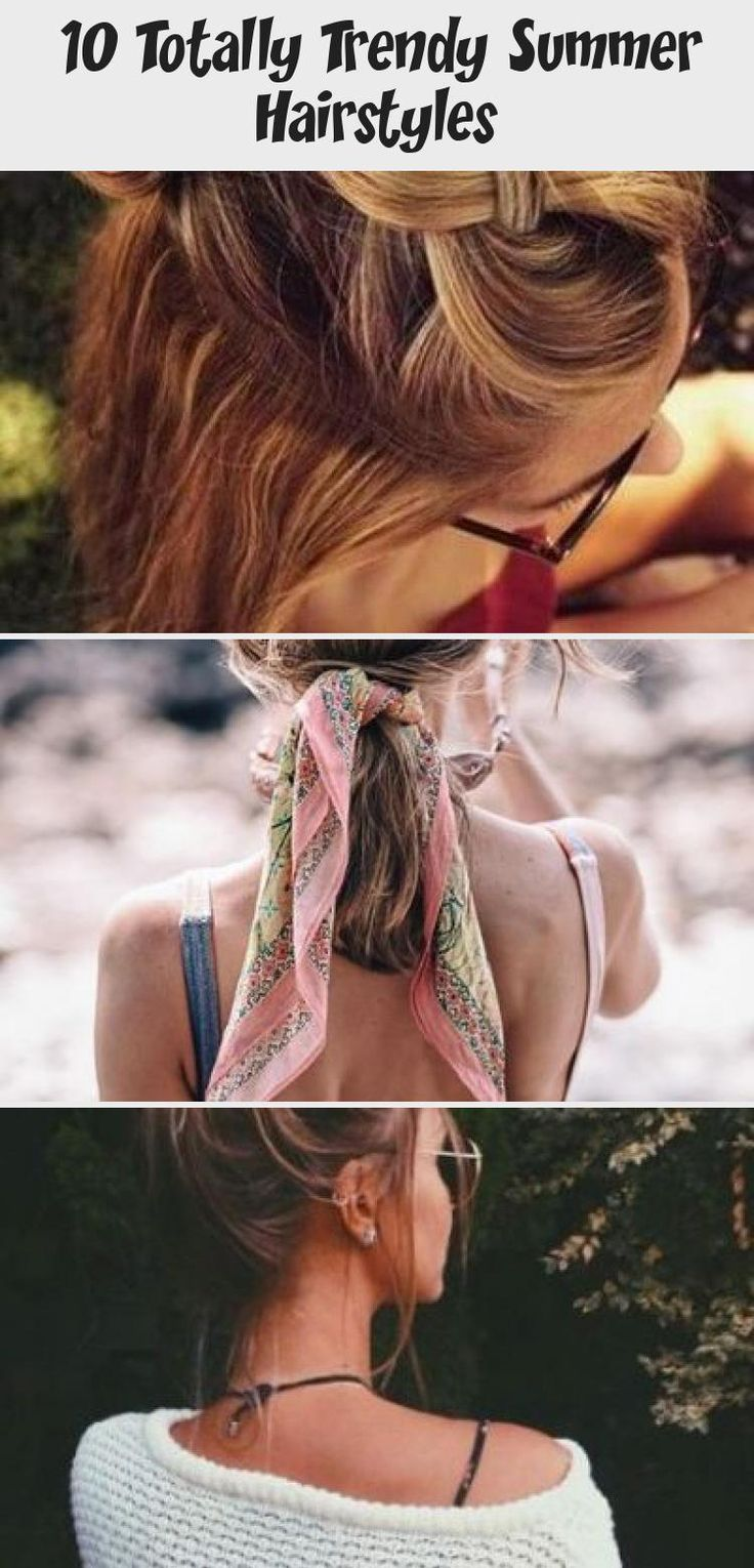 10 Totally Trendy Summer Hairstyles #summerhairstylesForRoundFaces #Curlysummerhairstyles #summerhairstylesStepByStep #summerhairstylesUpdo #summerhairstylesForSwimming