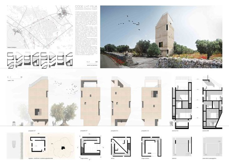 LHT_Leverano Horizon Tower - WINNER 2PLACE   by archiSTART #competition #architecture #archistart