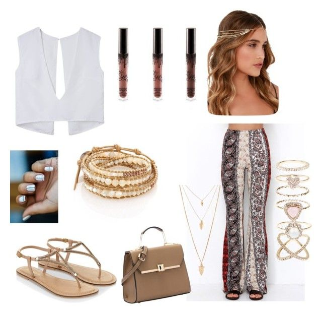 """""""Coachella date"""" by kaylacoop-1 on Polyvore featuring Accessorize, Lulu*s, Chan Luu, Forever 21, women's clothing, women, female, woman, misses and juniors"""