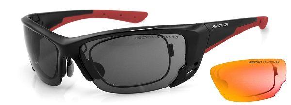 Arctica S-198A napszemüveg. Lencséi polikarbonátból készültek. Könnyűek, vékonyak, tartósak és ütésállóak.  Gumi orrpárnákat és optikai keretet kapott a napszemüveg! KATTINTS IDE!