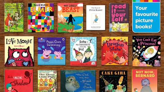 Me Books. Little red riding hood er gratis ellers er det betalingsbøger til mellemtrinnet.